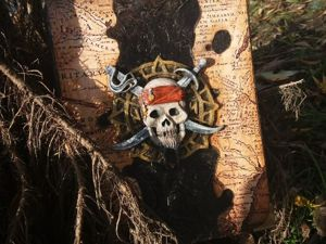 Блокнот настоящего пирата. Ярмарка Мастеров - ручная работа, handmade.