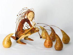 Papier-mache Dolls' Tale by Natalia Lopusova-Tomskaya. Livemaster - handmade