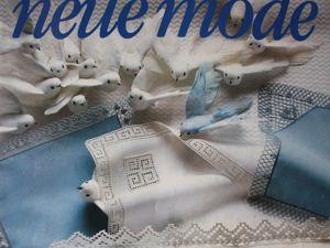 Neue  mode — спец. выпуск — вязание крючком- кружева. Ярмарка Мастеров - ручная работа, handmade.