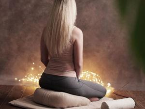 Незаменимый комплект для медитации. Ярмарка Мастеров - ручная работа, handmade.