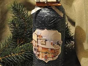"""Видео мастер-класс  """"Глинтвейн в подарок на Рождество"""". Ярмарка Мастеров - ручная работа, handmade."""