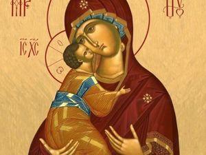 6 июля — праздник Владимирской иконы Божией Матери. Ярмарка Мастеров - ручная работа, handmade.