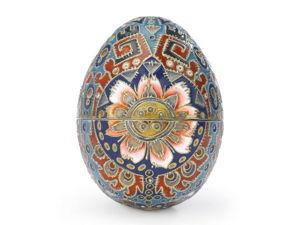 Русские эмали XIX века — пасхальное яйцо. Ярмарка Мастеров - ручная работа, handmade.