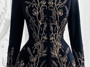 Stylish Embroidered Coats, Jackets by Paolo Sebastian 2018-19. Livemaster - handmade