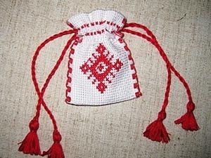 Создаем сувенирный мешочек с вышивкой. Ярмарка Мастеров - ручная работа, handmade.