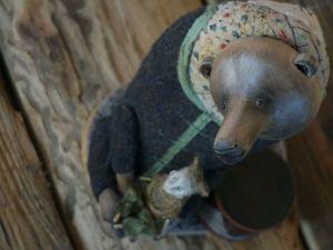 Медвежья потеха. Ярмарка Мастеров - ручная работа, handmade.