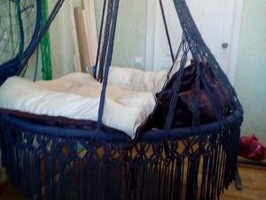 Новое подвесное кресло — гамак. Ярмарка Мастеров - ручная работа, handmade.