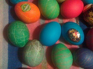 Чистый четверг, или Красим яйца с творческим подходом. Ярмарка Мастеров - ручная работа, handmade.