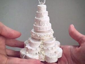 Несъедобный и полностью безкалорийный торт как изделие хендмейд. Ярмарка Мастеров - ручная работа, handmade.