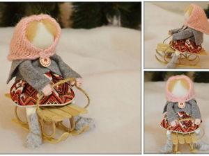 Видео мастер-класс: делаем куколку в народном стиле. Ярмарка Мастеров - ручная работа, handmade.