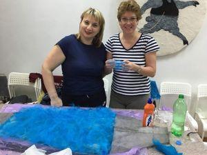 О том, как мы валяли платья. Ярмарка Мастеров - ручная работа, handmade.