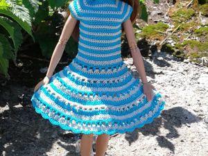 Летнее платье для Барби. Ярмарка Мастеров - ручная работа, handmade.