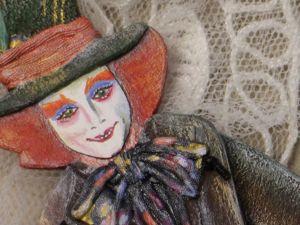 Делаем подвижную куклу Шляпник. Часть 2. Ярмарка Мастеров - ручная работа, handmade.