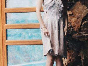Валяное платье за коллекцию. Конкурс коллекций. Ярмарка Мастеров - ручная работа, handmade.