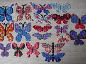 Как сделать бабочек из остатков алмазной мозаики. Ярмарка Мастеров - ручная работа, handmade.