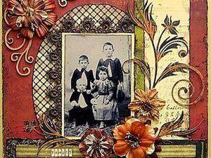 Скрапбукинг. Ваша история для потомков. Ярмарка Мастеров - ручная работа, handmade.