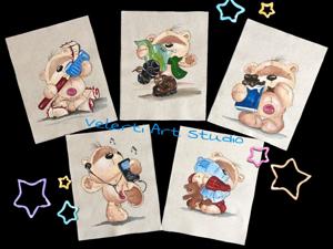 Аукцион на Набор Купонов  «Мишкины радости»  5 шт Нови. Ярмарка Мастеров - ручная работа, handmade.