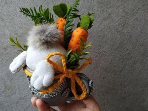 Кролик в чашке. Вторая жизнь старых вещей. Ярмарка Мастеров - ручная работа, handmade.