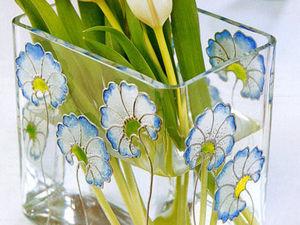 Подборка очаровательных работ росписи стекла витражными красками. Ярмарка Мастеров - ручная работа, handmade.