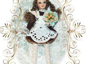 Моя Школьница — фарфоровая кукла. Ярмарка Мастеров - ручная работа, handmade.