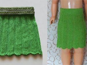 Видео мастер-класс: вяжем юбку спицами. Ярмарка Мастеров - ручная работа, handmade.