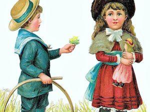 Несколько моделей детской одежды 19 века. Ярмарка Мастеров - ручная работа, handmade.
