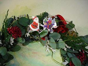 Мастерим рождественский венок – символ вечного возрождения. Ярмарка Мастеров - ручная работа, handmade.