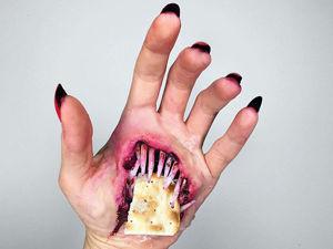 Фредди Крюгер отдыхает! Как художница по гриму превращает свои руки в арт-объекты из фильмов ужасов. Ярмарка Мастеров - ручная работа, handmade.