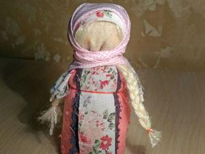Видео мастер-класс: создаем куклу-мотанку «Зерновушка». Ярмарка Мастеров - ручная работа, handmade.