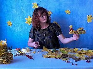 Осенняя фантазия. Ярмарка Мастеров - ручная работа, handmade.