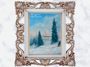 Новая работа картина Белогорский монастырь. Ярмарка Мастеров - ручная работа, handmade.