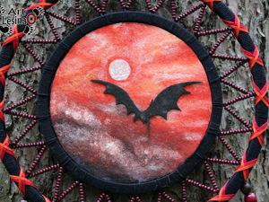 Ловец снов  «Последний дракон» , 60 см. Ярмарка Мастеров - ручная работа, handmade.