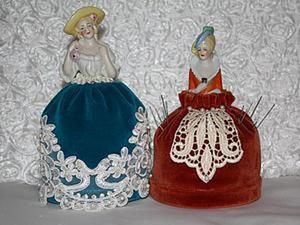 Делаем игольницу — half doll. Ярмарка Мастеров - ручная работа, handmade.