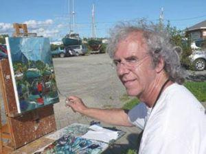 Живопись мастихином художника Альбини Леблана. Ярмарка Мастеров - ручная работа, handmade.