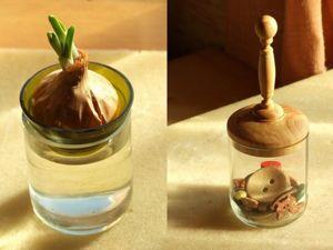 Создаем две поделки из резаных бутылок. Ярмарка Мастеров - ручная работа, handmade.