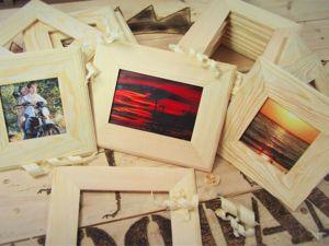 Делаем рамки для фото: видео мастер-класс. Ярмарка Мастеров - ручная работа, handmade.