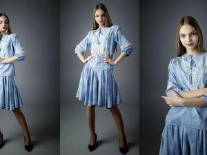 Бохо блузка и юбка шорты. Ярмарка Мастеров - ручная работа, handmade.