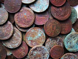 Как почистить монеты?. Ярмарка Мастеров - ручная работа, handmade.