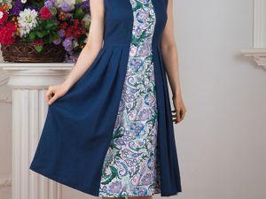 Платье Льняное Девица. Ярмарка Мастеров - ручная работа, handmade.
