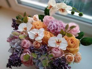 Создаем реалистичные цветы из холодного фарфора (полимерной глины). Ярмарка Мастеров - ручная работа, handmade.