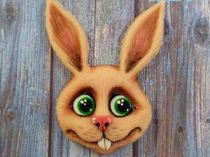 Лепим зайчика из полимерной глины: видеоурок. Ярмарка Мастеров - ручная работа, handmade.