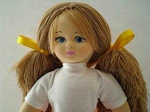 Мастер-класс: рождение куколки «Glorex». Часть вторая. Ярмарка Мастеров - ручная работа, handmade.