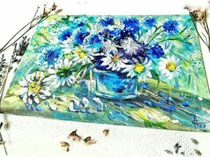 Пишем цветочный натюрморт. Ярмарка Мастеров - ручная работа, handmade.