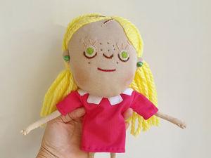 Кукла Смарта из мультика Смарта и чудо сумка. Ярмарка Мастеров - ручная работа, handmade.