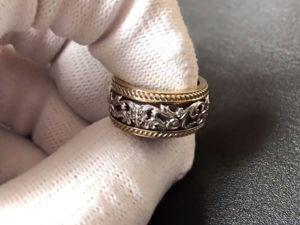 Обзор кольца  «Узоры Венеции»  из золота 585 пробы. Ярмарка Мастеров - ручная работа, handmade.