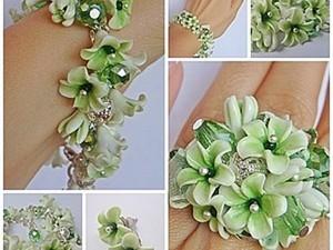 Создаем из полимерной глины бусины-цветы. Ярмарка Мастеров - ручная работа, handmade.