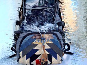 Видеоурок: лоскутный рюкзак быстро и просто. Ярмарка Мастеров - ручная работа, handmade.