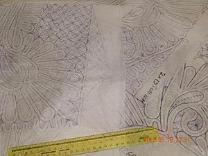 Делаем схему для румынского кружева. Ярмарка Мастеров - ручная работа, handmade.