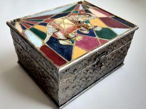 Декорируем шкатулку в восточном стиле. Ярмарка Мастеров - ручная работа, handmade.