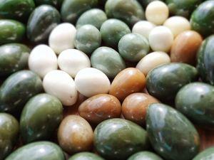 Подготовка к работе с нефритовыми яйцами. Очистка яйца из нефрита. Ярмарка Мастеров - ручная работа, handmade.